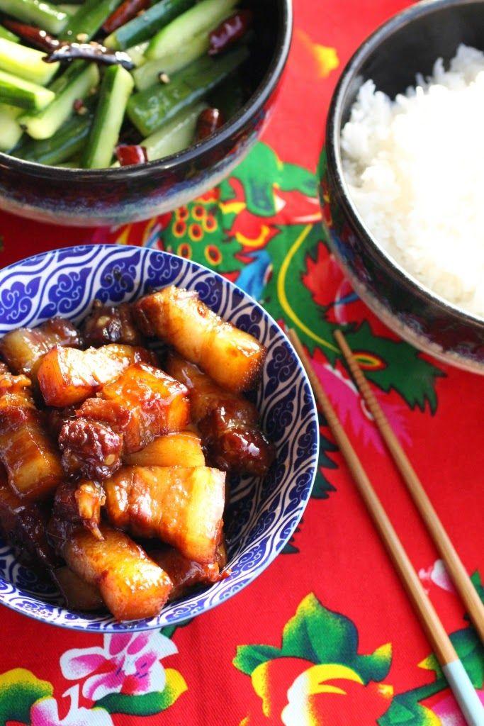 repas chinois recettes porc caramel
