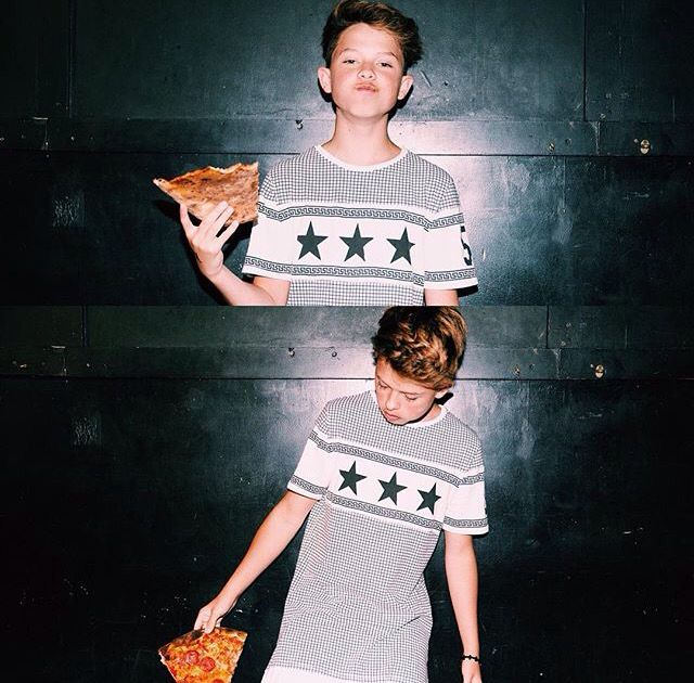 HE HAS PIZZA YOU OWE ME SONE PIZZA REMEMBER