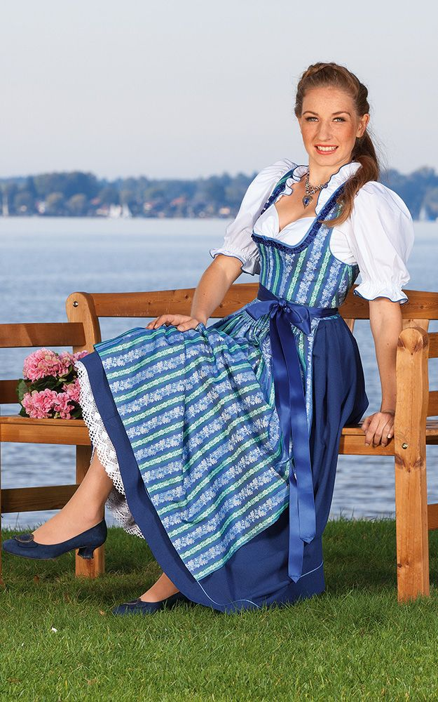 die besten 25 chiemseer dirndl ideen auf pinterest. Black Bedroom Furniture Sets. Home Design Ideas