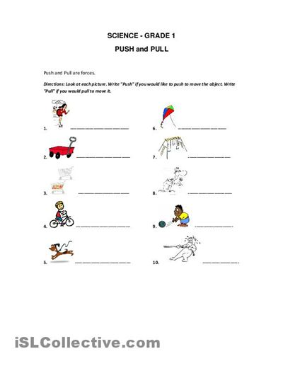 forces printable and pull worksheet free esl printable worksheets made by teachers. Black Bedroom Furniture Sets. Home Design Ideas