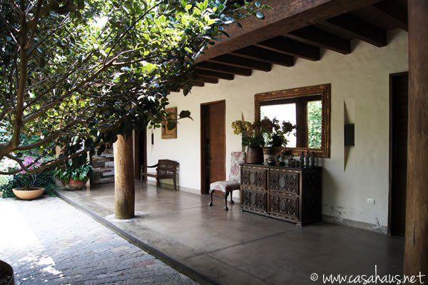 patio rustico mexicanorustic bathroom | Casa Haus