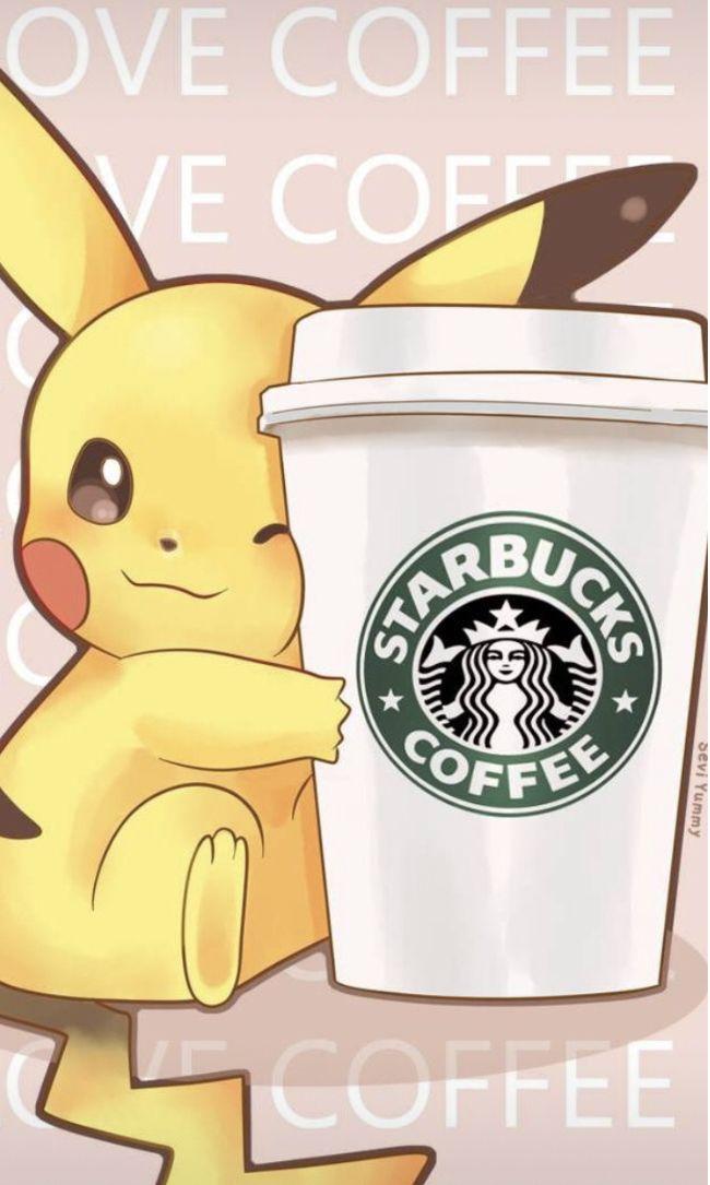 Pin By Skyejuile On Starbucks Pikachu Pokemon Cute Wallpapers