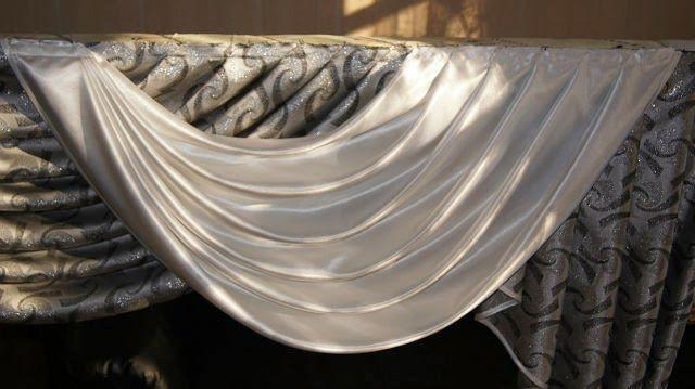 Método de coser cortinas accesorios - Parte I