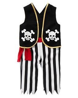 #frightfulfaves Gymboree Ahoy Pirate Costume. $14.