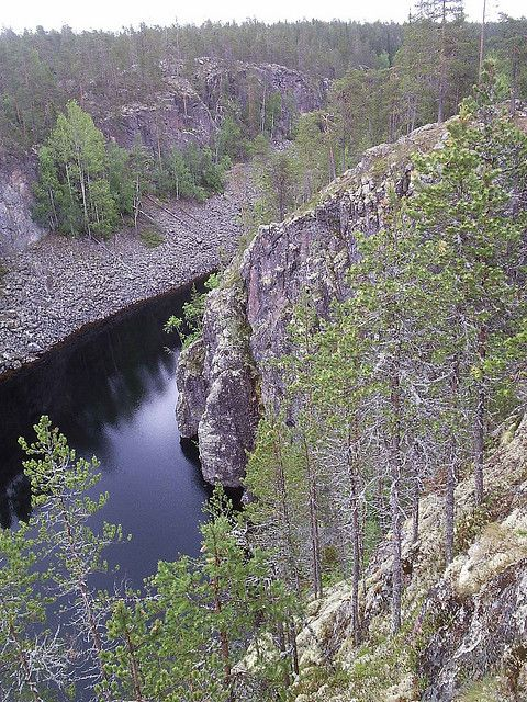 Canyon Lake Julma-Ölkky, Kuusamo Finland. Photo: falsummatti   Flickr - Photo Sharing!