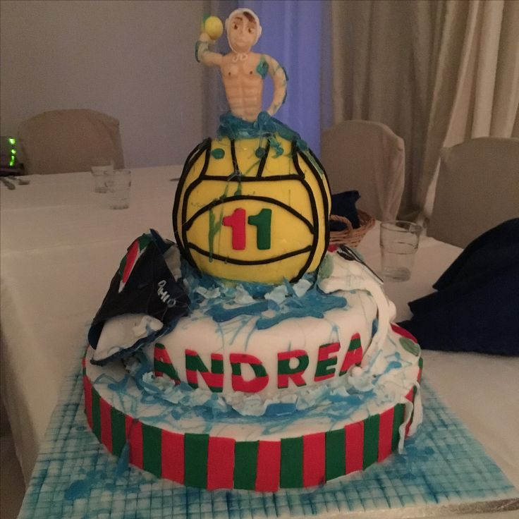 Cake waterpolo
