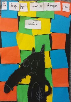 le loup qui voulait changer de couleur