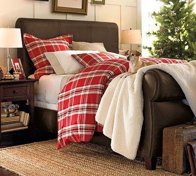 cozy cozy cozy...Beds,  Comforters, Christmas Bedrooms, Bedrooms Design,  Puff, Inspiration Bedrooms, Pottery Barn, Bedrooms Decor Ideas, Bedrooms Ideas
