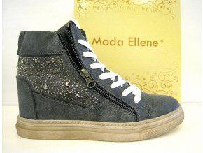 Podzimní tenisky na platformě Sneakers, šedé