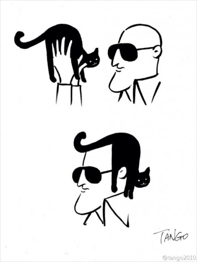 16brilliantly witty comic strips bythe artist Tango