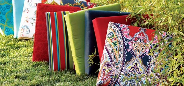 Outdoor Chair Cushions at Cost Plus World Market >> #WorldMarket Outdoor Entertaining & Decor