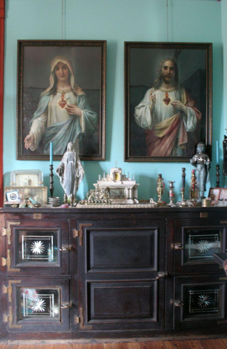 878 best catholic home decor images on pinterest prayer for Catholic decorations home