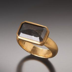 Dakota Raw Diamond Ring by Faye Kim