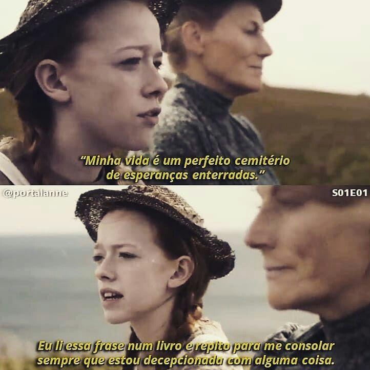 Anne With An E Com Imagens Frases Marcantes De Filmes Frases