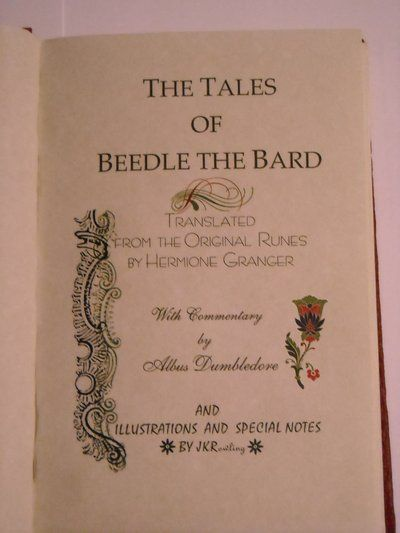 17 Best images about The Tales of Beedle the Bard on ...