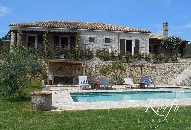 Villa Fioretta in Marmaro/Korfu - Ferienhaus der Luxusklasse zu mieten bei Korfu Exklusiv