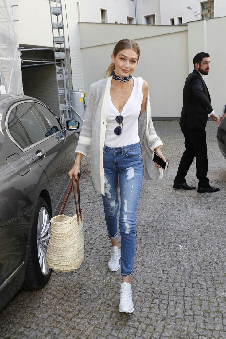 Image result for neckerchief street style gigi