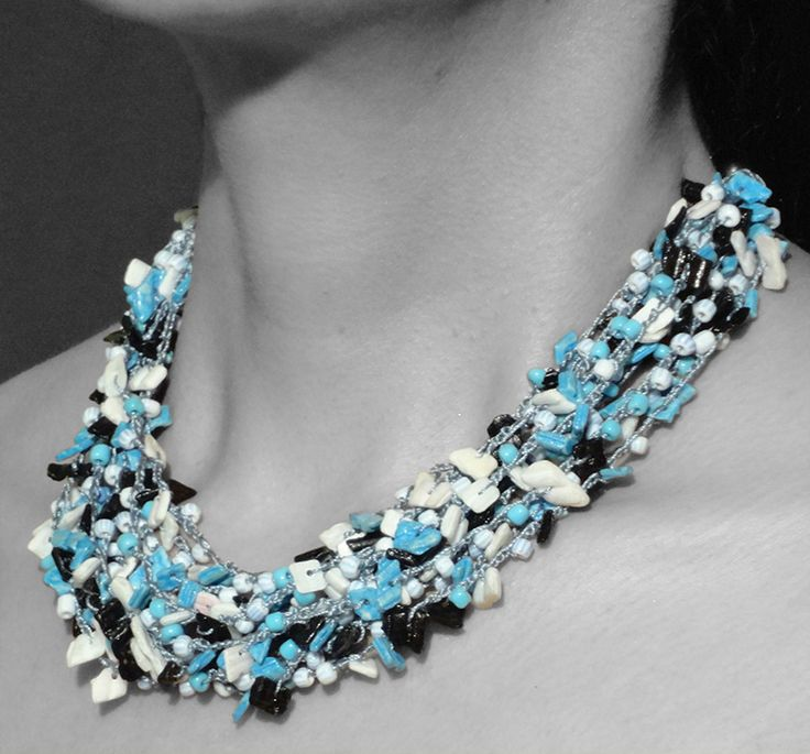 A striking necklace by BRizzy's collection is fit for you.