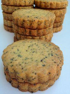 galletas sables con semillas de amapola