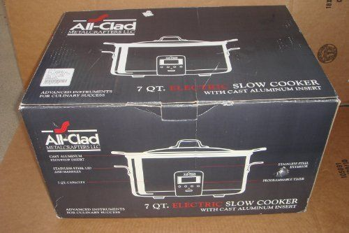 All-Clad Deluxe 7-QT. Slow Cooker