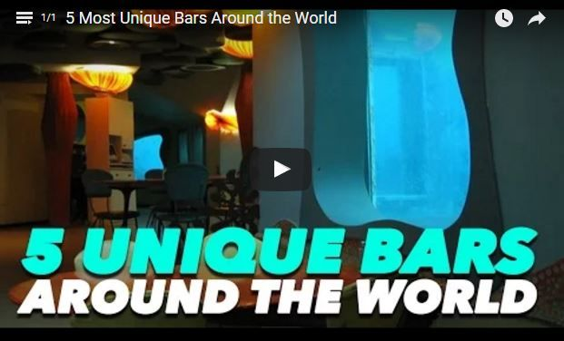 YOU WILL NEVER BELIEVE: 5 Most Unique Bars #AroundtheWorld! VIDEO here! #CocknTail #Margate http://bit.ly/1L2Tf5S