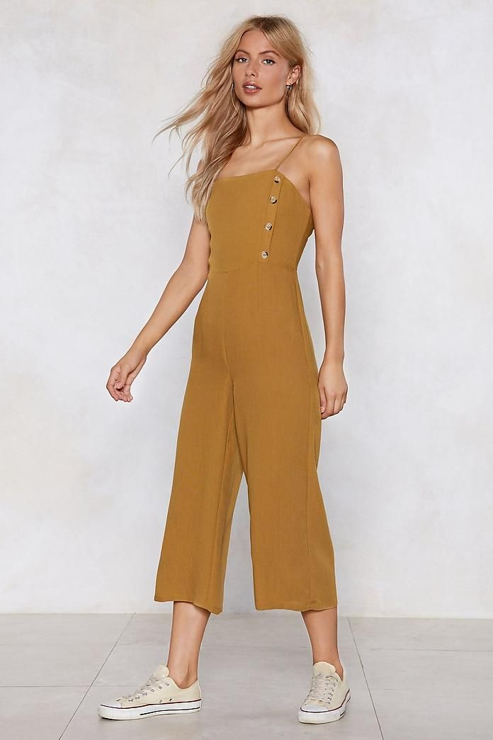 6d22a044ee1 Button It Be Nice Jumpsuit in 2019