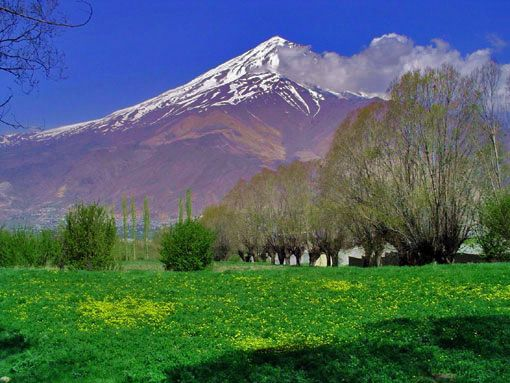 Damavand Mount, Iran Damavand (the highest peak in Iran) is a significant mountain in Persian mythology and it's the symbol of resistance. #mountain #mount #damavand #climbing #iran #travel