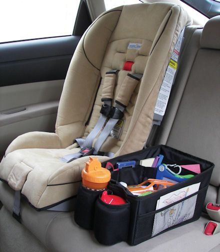 Make my own version of car seat tidy