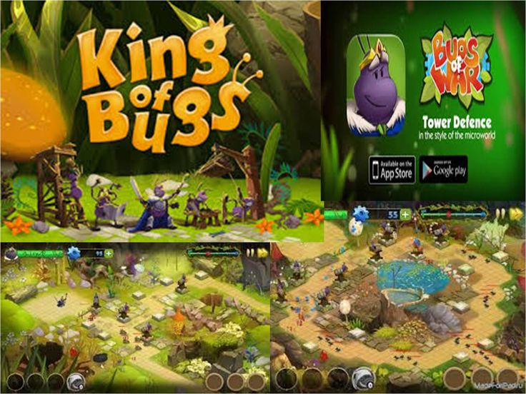 King Of Bugs Did you know about the existence of a world that lives in parallel with ours? Just look down and you will discover a whole universe filled with the true human emotions: love and courage are side by side with treachery and deceit. It is the Universe which inhabitants are ready to fight for their home and freedom. King of Bugs is a classic Tower Defense with a thrilling story that will entice you not for one night.