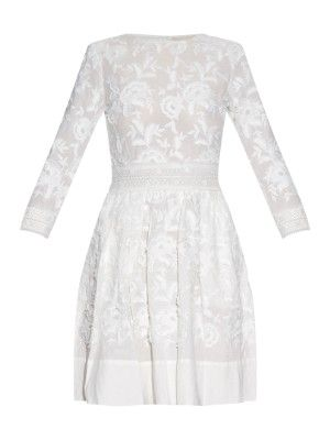 Daga embroidered cotton dress | Vanessa Bruno | MATCHESFASHION.COM