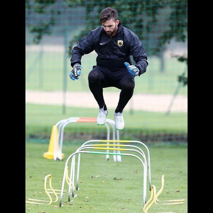 Alain Baroja #AEK training preseason 2015