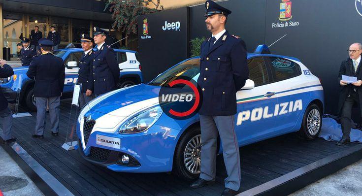Jeep Renegade Alfa Romeo Giulia And Giulietta Enter Service With The Italian Police