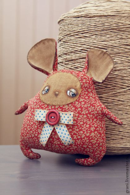 Ароматизированные куклы ручной работы: Мыши. Handmade.
