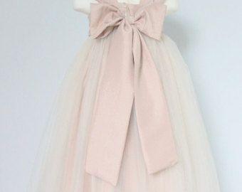 El sol Vestido de flores: hecho a mano flor niña vestido (FD0FL) - boda Pascua Junior Dama de honor - para niños niño niños Teen niñas