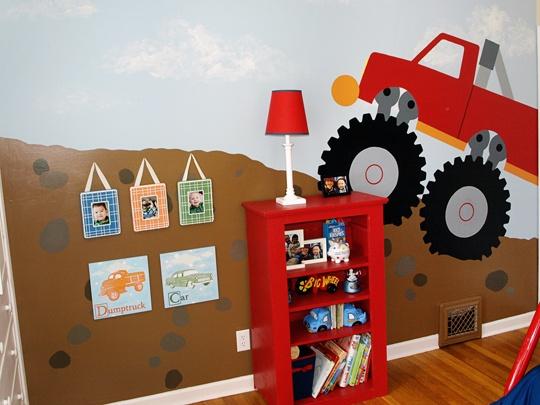 My Room: Zach & Clayton   Truck bedroom, Monster truck ...
