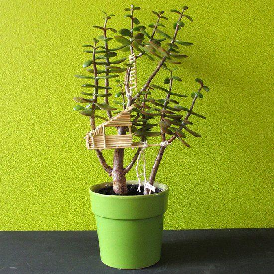 Miniature Tree House best 25+ miniature trees ideas on pinterest | kids doll house