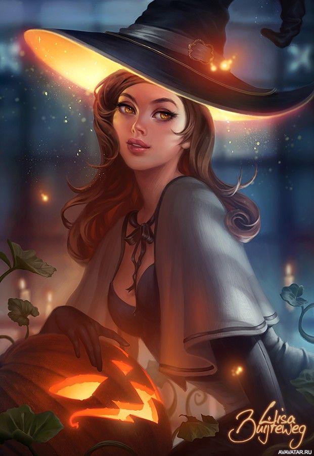 #girls, #witches, #hats, #images, #девушки, #ведьмы, #шляпы, #картинки https://avavatar.ru/image/2672