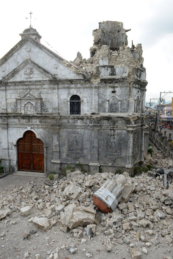 Photos: Scores killed in Philippines earthquake