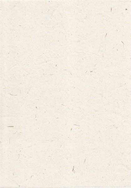 Handmade textured white recycled paper Invitation paper