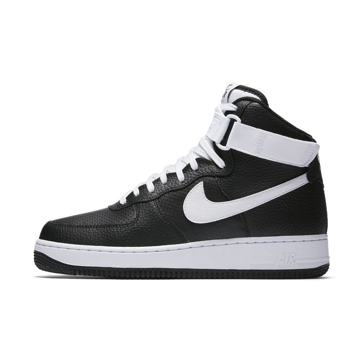 Nike Air Force 1 High 07 Men's Shoe Size 11.5 (Black) - Clearance Sale