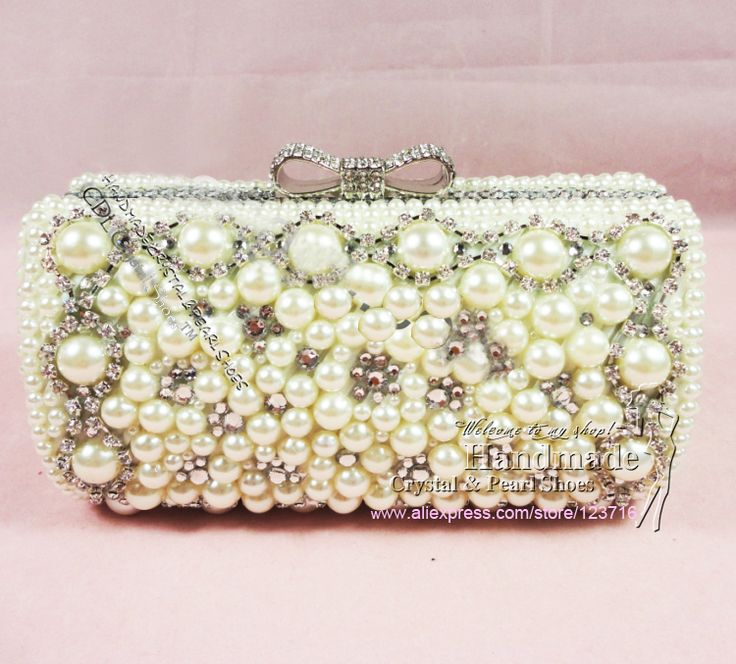 Fashion Seven Candy Color Mini Bag Leather Clutches Famous Brand Evening Women Chain Handbag Ivory