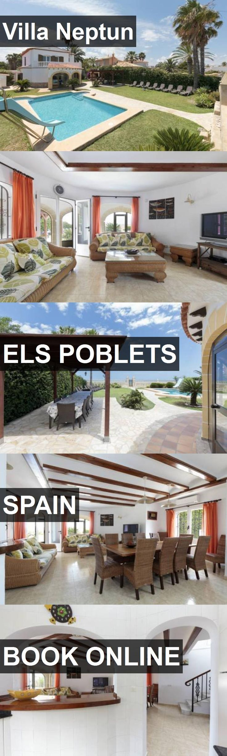 Hotel Villa Neptun in Els Poblets, Spain. For more information, photos, reviews and best prices please follow the link. #Spain #ElsPoblets #VillaNeptun #hotel #travel #vacation