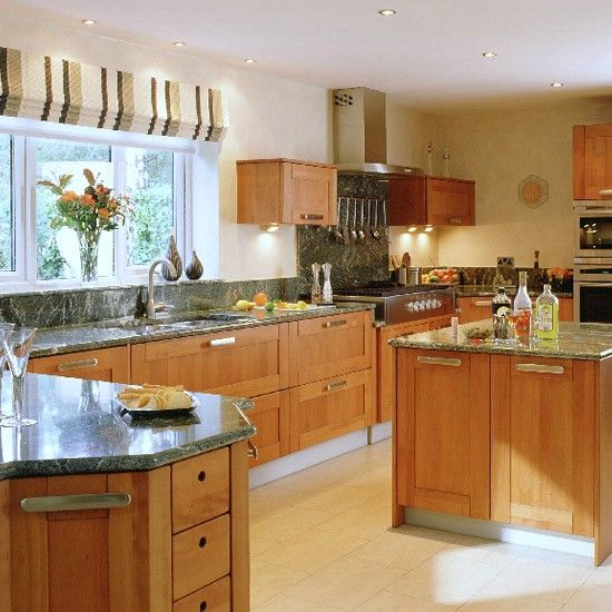 1000 Ideas About L Shaped Kitchen On Pinterest: 1000+ Ideas About Cherry Wood Kitchens On Pinterest