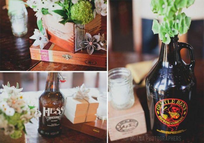 25 Best Ideas About Beer Bottle Centerpieces On Pinterest