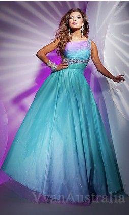 Prom dresses Prom dresses blue and purple dress light blue long dress puffy