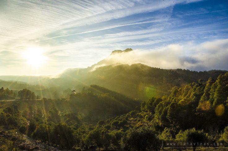 Santa Bàrbara és una imponent muntanya de roca conglomerada de forma piramidal de 735m d'altitud, que emergeix darrera del Convent de Sant Salvador, prop d'Horta de Sant Joan.