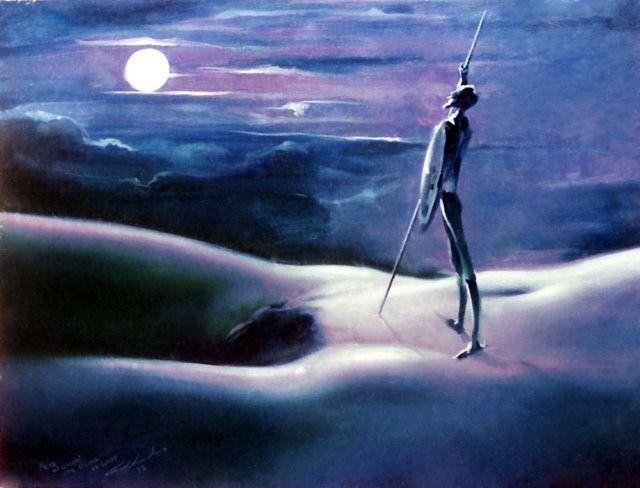 Don Quijote a la luz de la luna [Manolo Gallardo Mansylla]