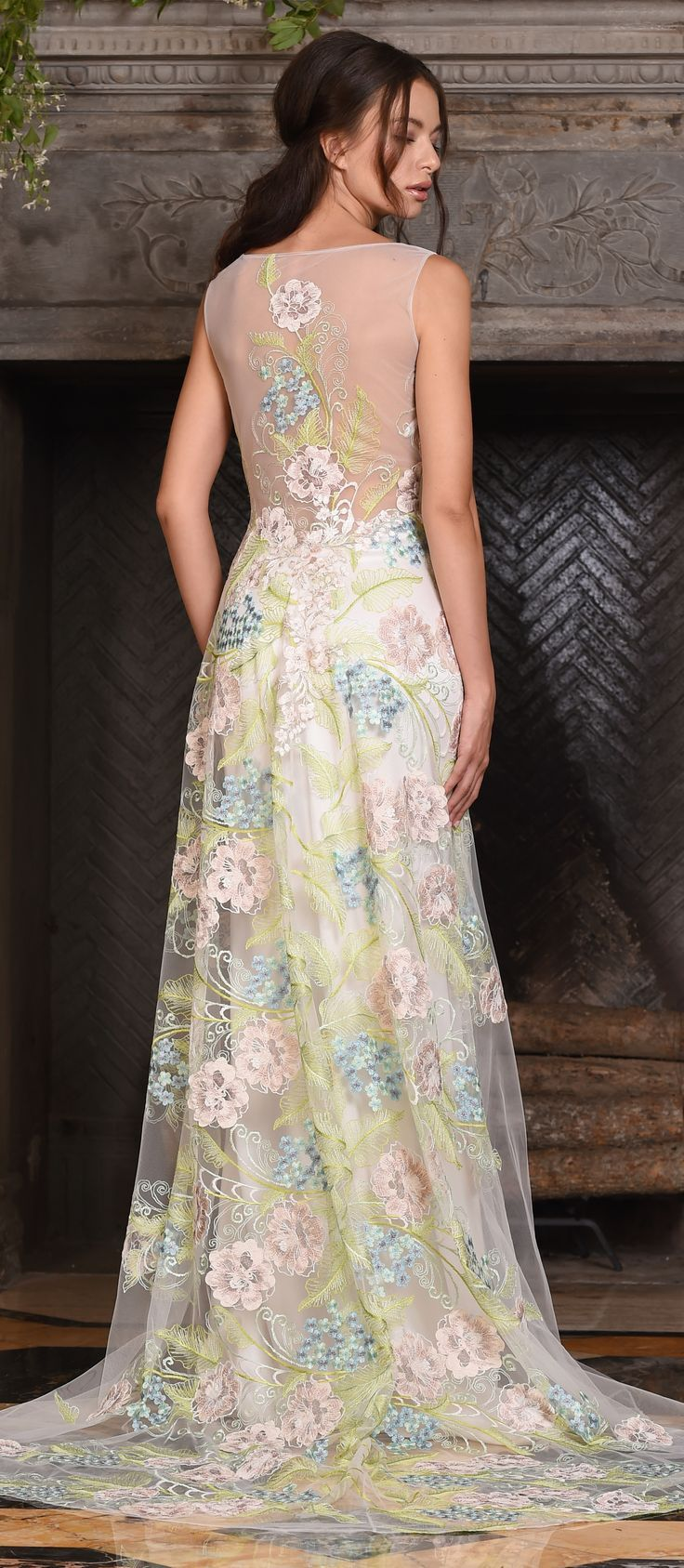The 24 best CLAIRE PETTIBONE images on Pinterest | Wedding frocks ...