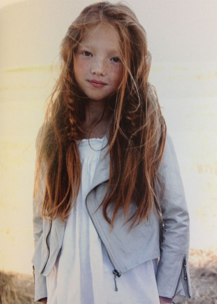 Amazing if my daughter turned out like this. A red head Asian!