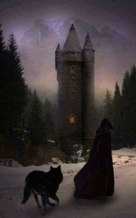 Uma das torres da Mansão dos Torres